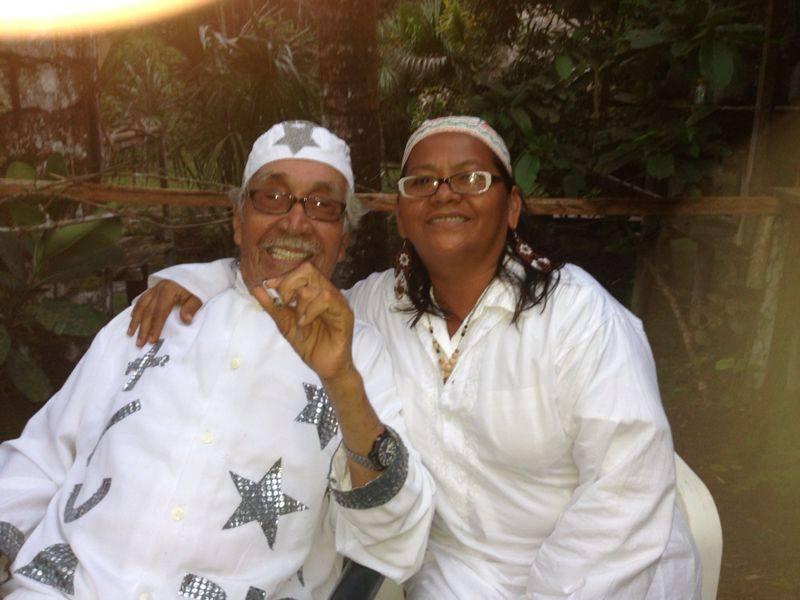 Der Schamane Don Agustin mit seiner Frau Dona Marlene