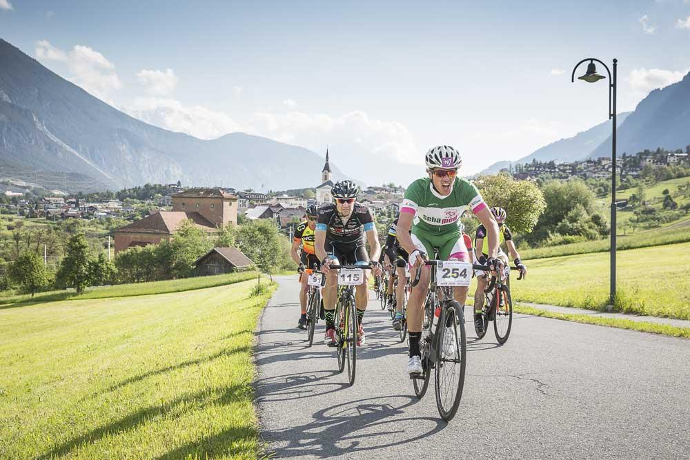 Teilnehmer am Imster Radmarathon