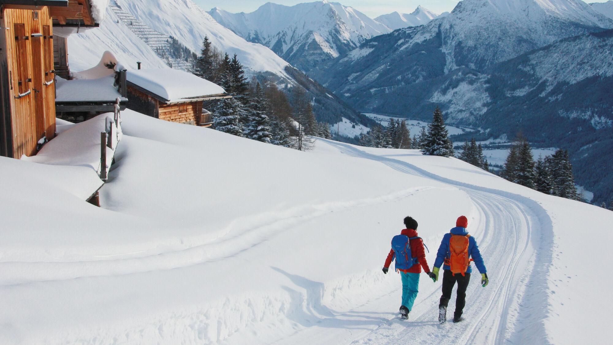 Holzgau in den Lechtaler Alpen