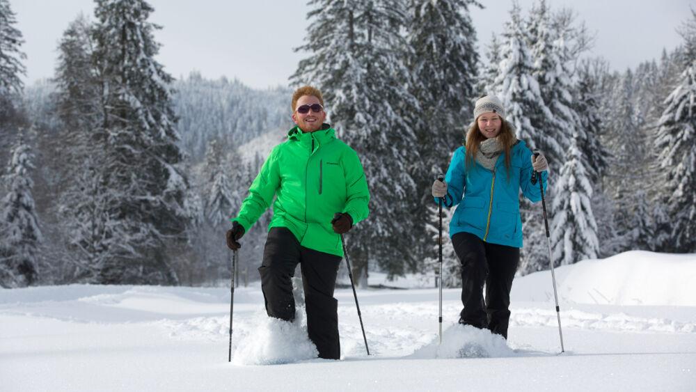 Schneeschuhtour durch die Natur des Nordschwarzwaldes