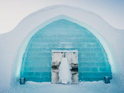 Ein kleines Eishotel von ICEHOTEL