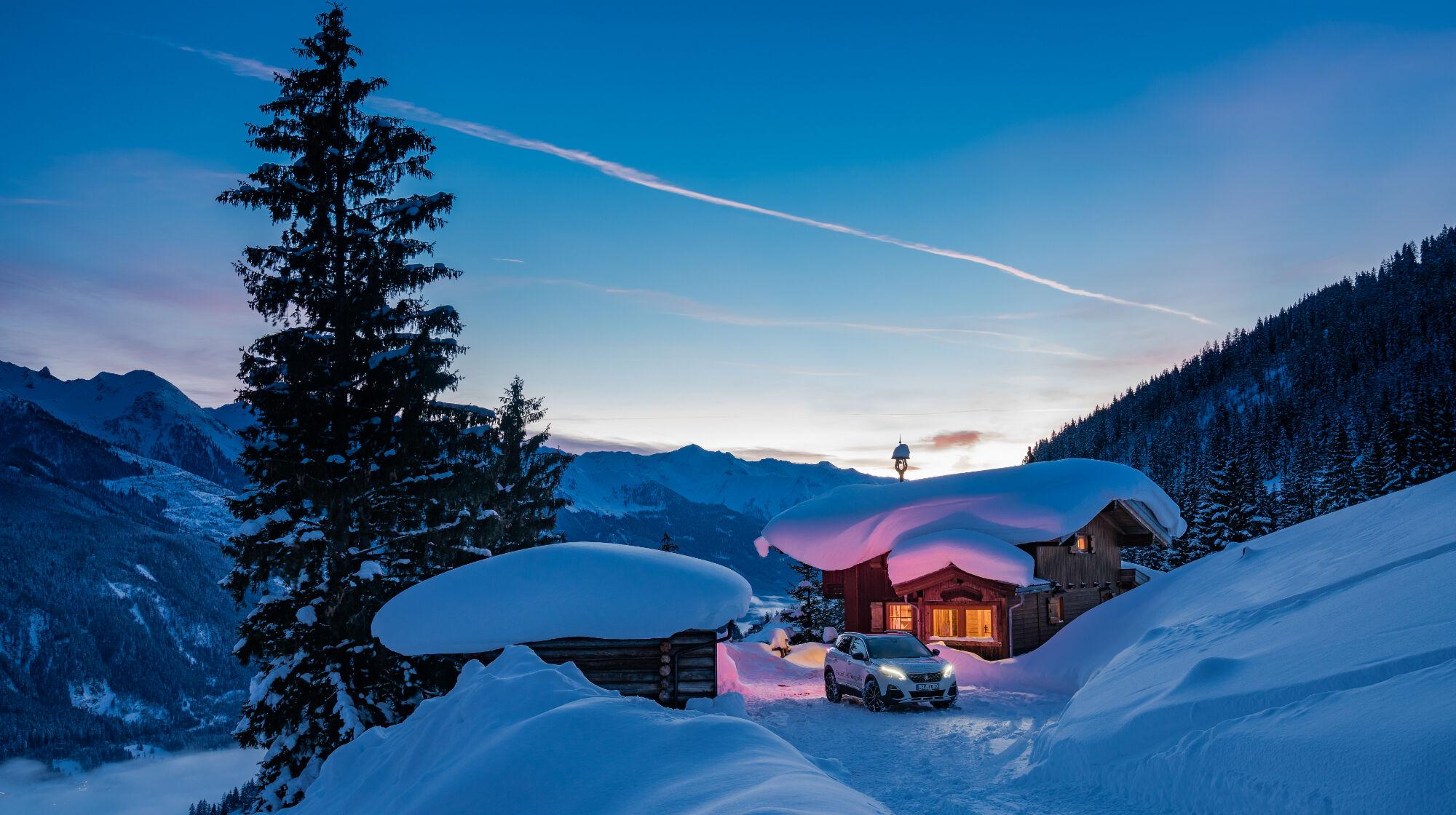 Gewinnerhütte Almliesl im Salzburger Land