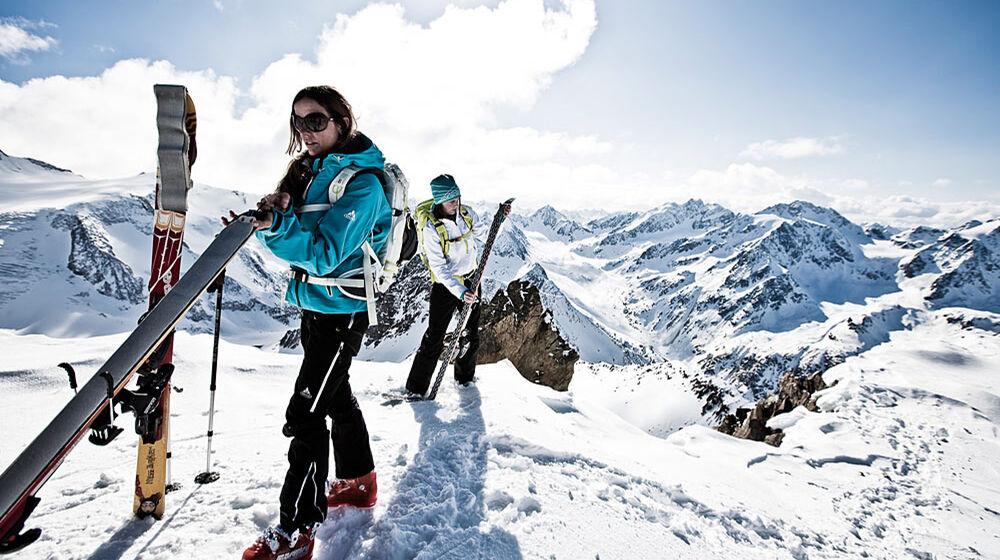 Vaude Skitouren Camp in Hirschegg