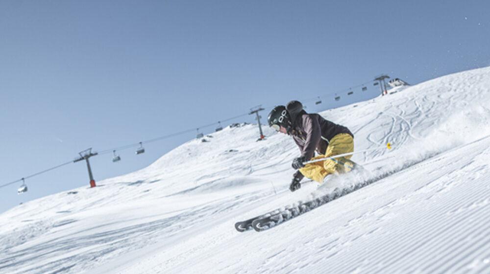 Skifahrer in Ratschings