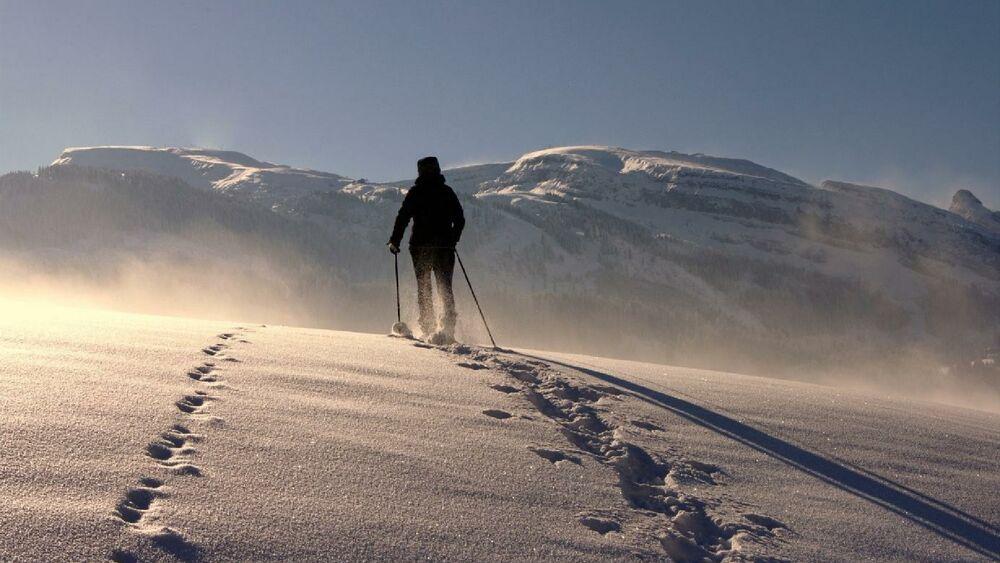 Winterwandern in der unberührten Natur in Maria Alm