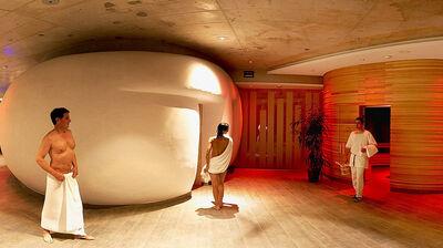Saunabereich im Römerbad
