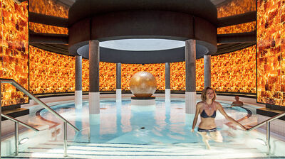 Engadin Pool in der Therme