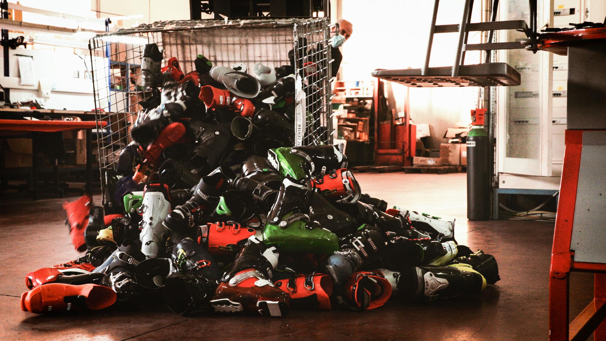 Beim Kauf neuer TECNICA Skischuhe soll jeder seine alten Schuhe, egal von welcher Marke, angeben kön