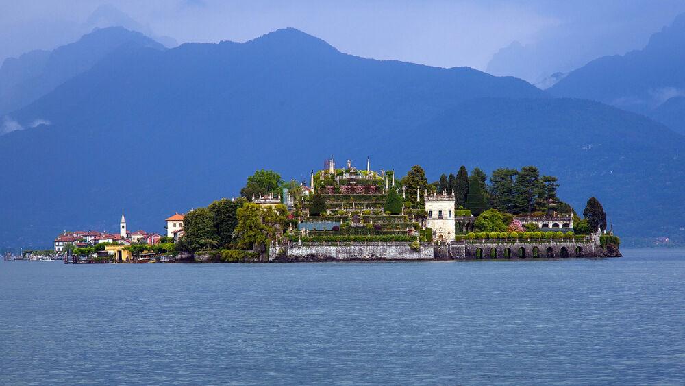 Blick auf Isola Bella