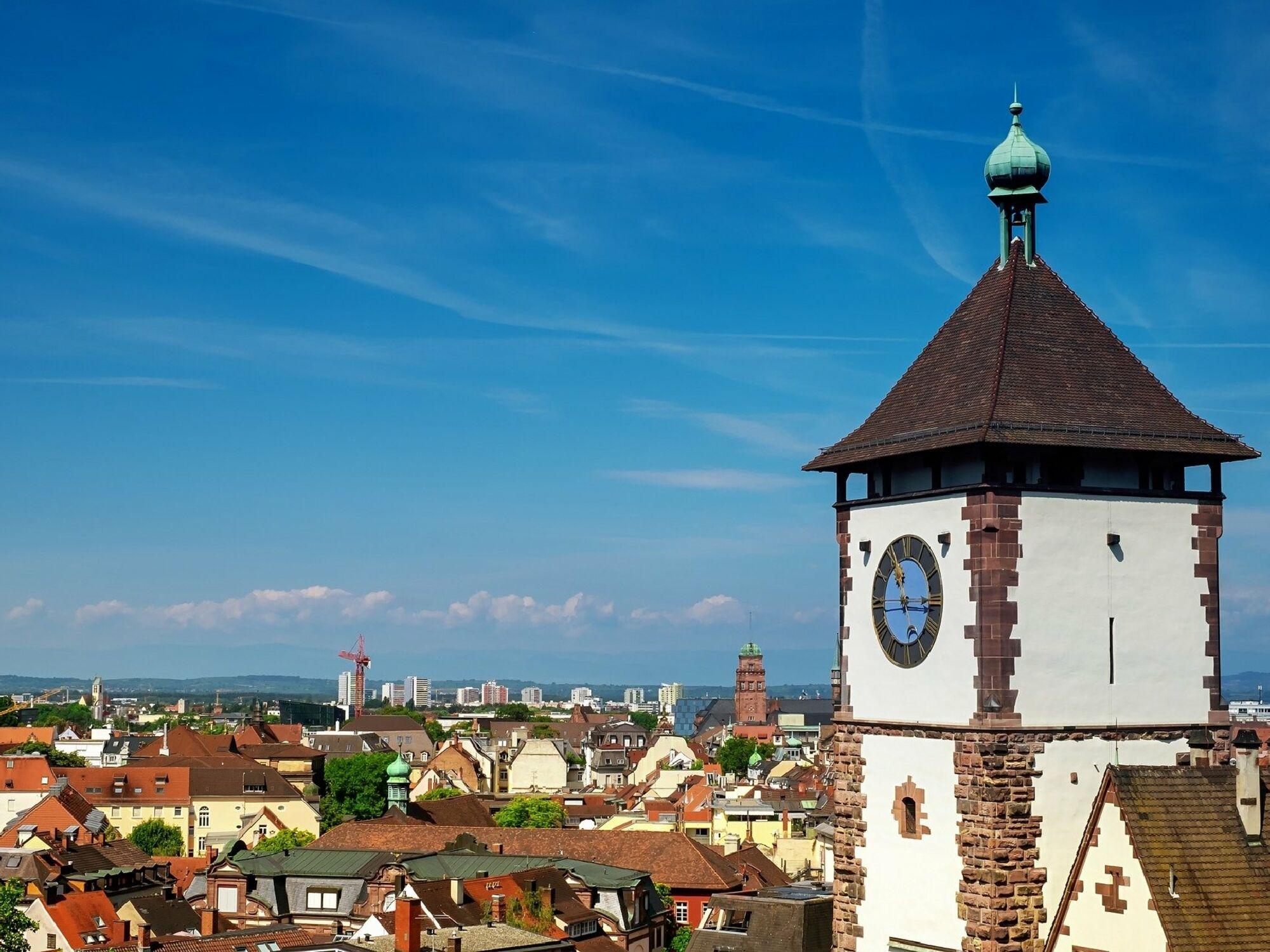 Das Schwabentor in Freiburg