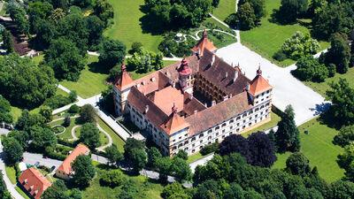 Blick auf das Schloss Eggenberg