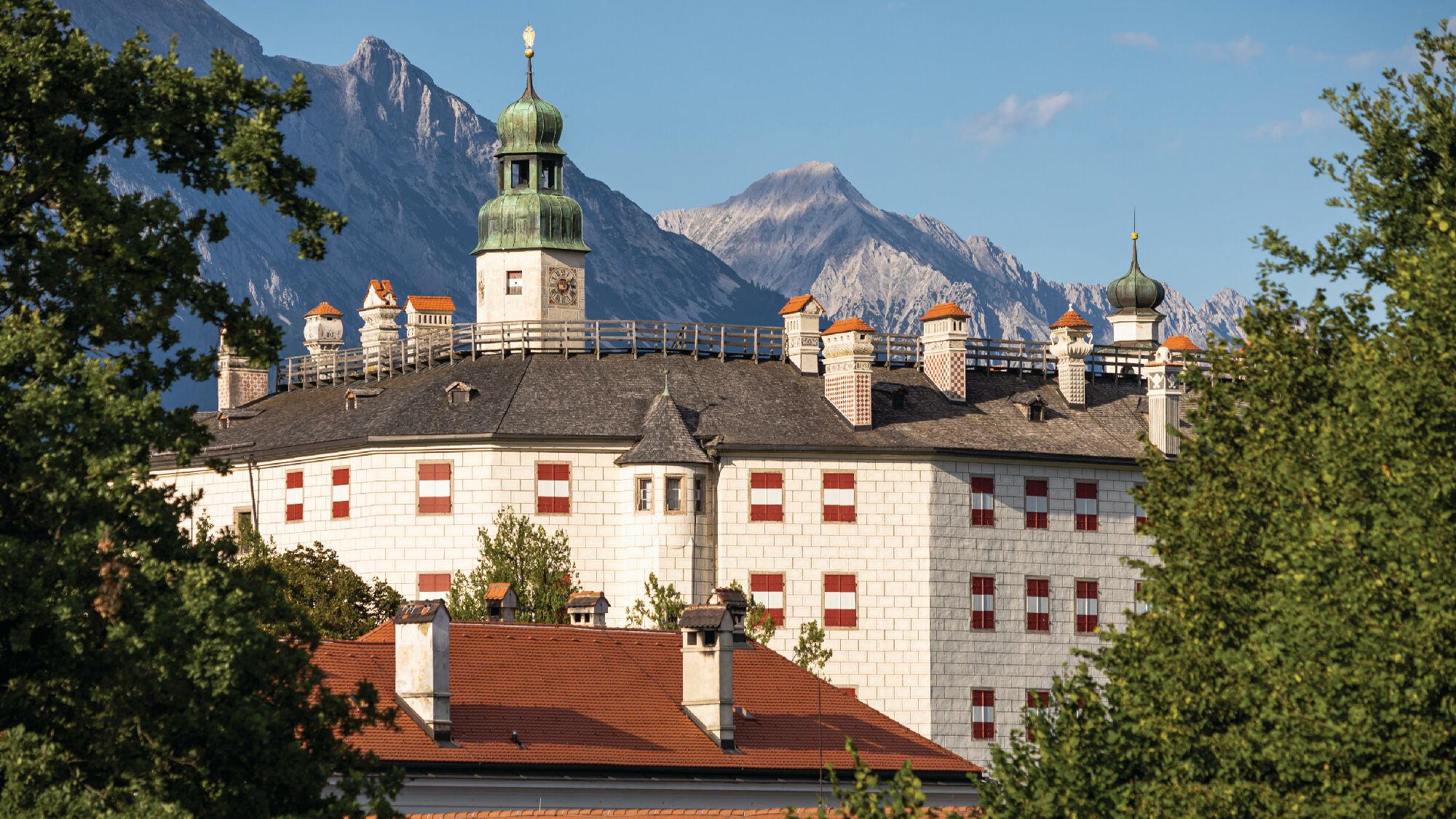 Das Schloss Ambras in Innsbruck
