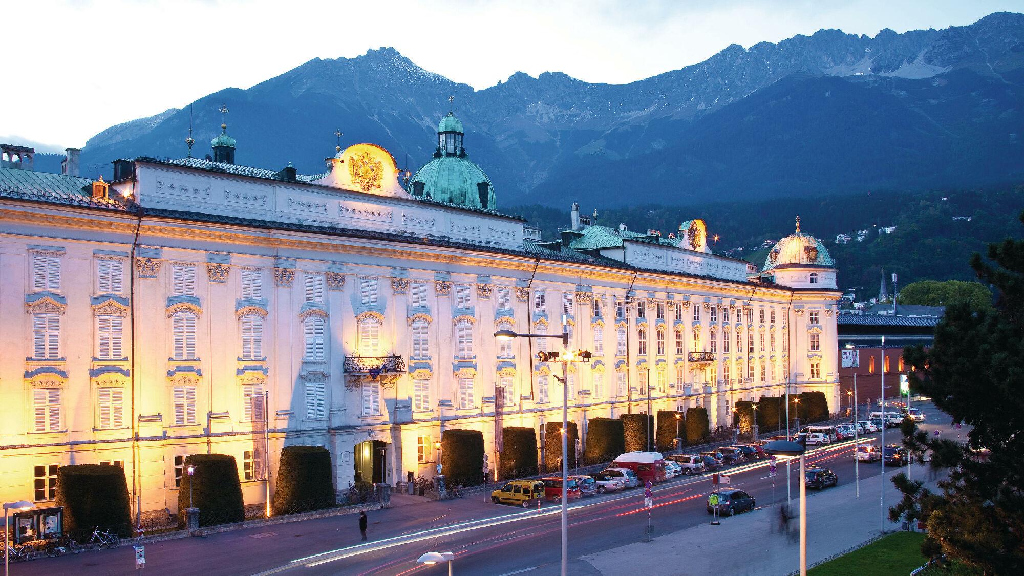 Die Kaiserliche Hofburg Innsbruck