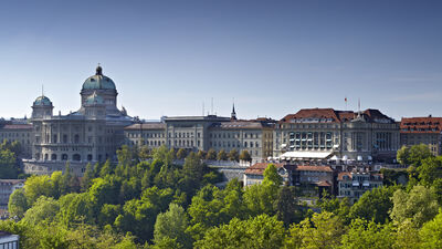 Aussicht auf die Altstadt von Bern