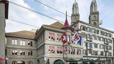Das Zunfthaus Grossmünster in Zürich