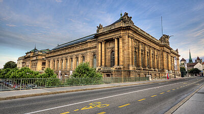 Gebäude in Genf