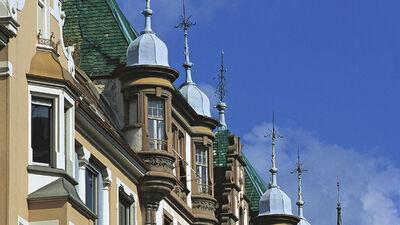 Die Altstadt in Bozen