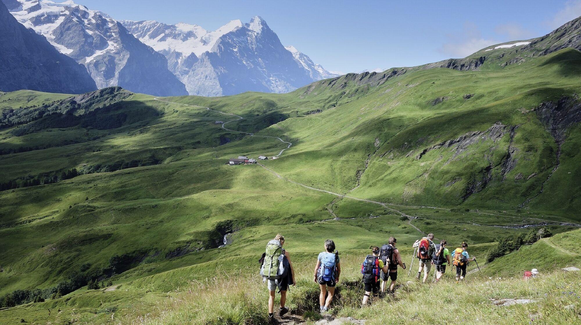 Die Alpen überqueren