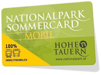 Die Nationalpark Sommercard
