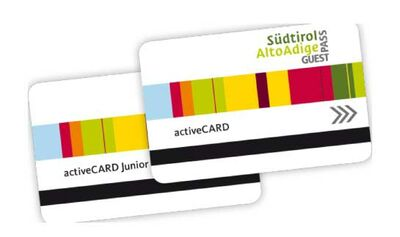 Die activeCARD für Südtirol