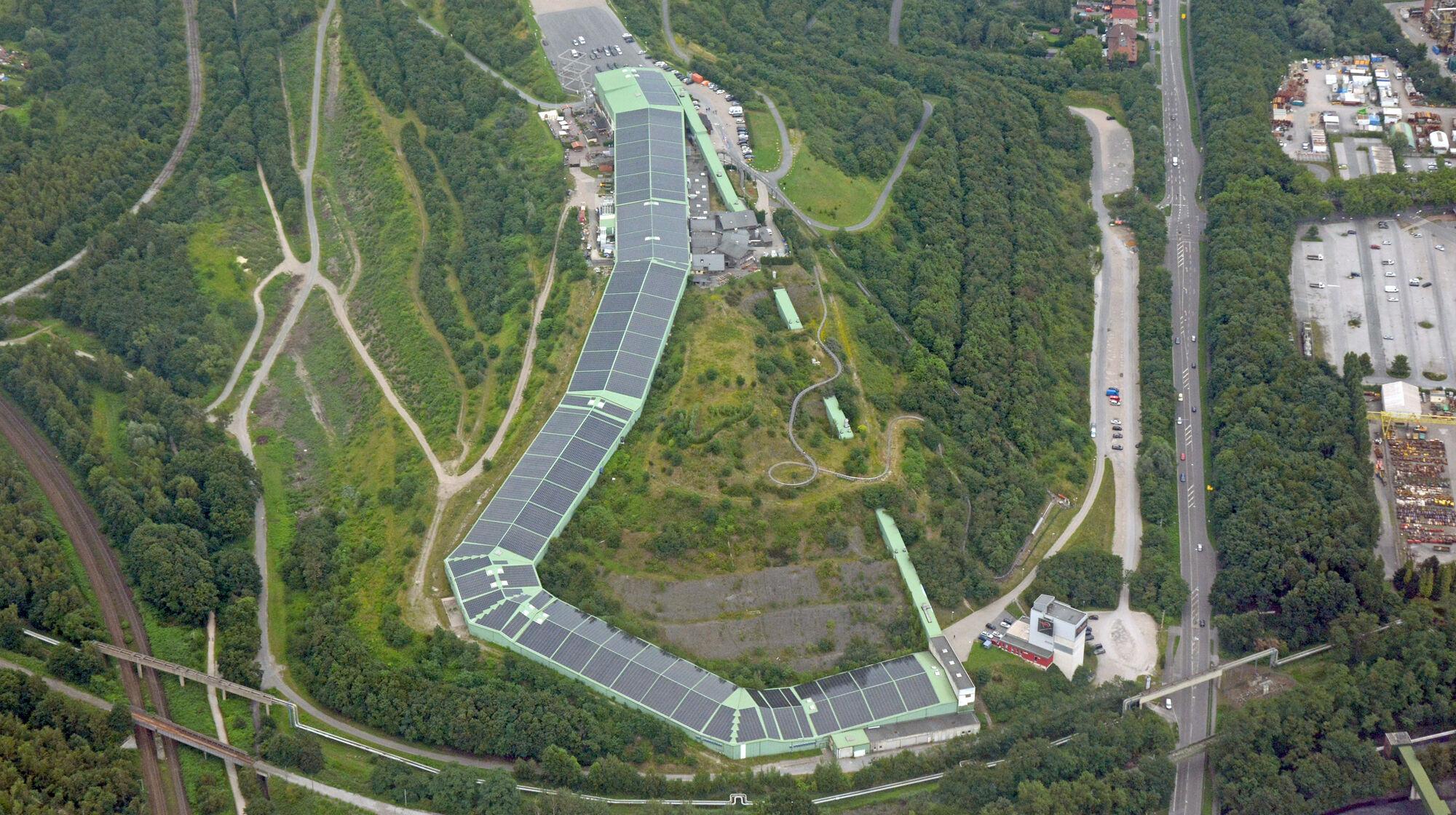 Luftaufnahme Alpincenter Bottrop