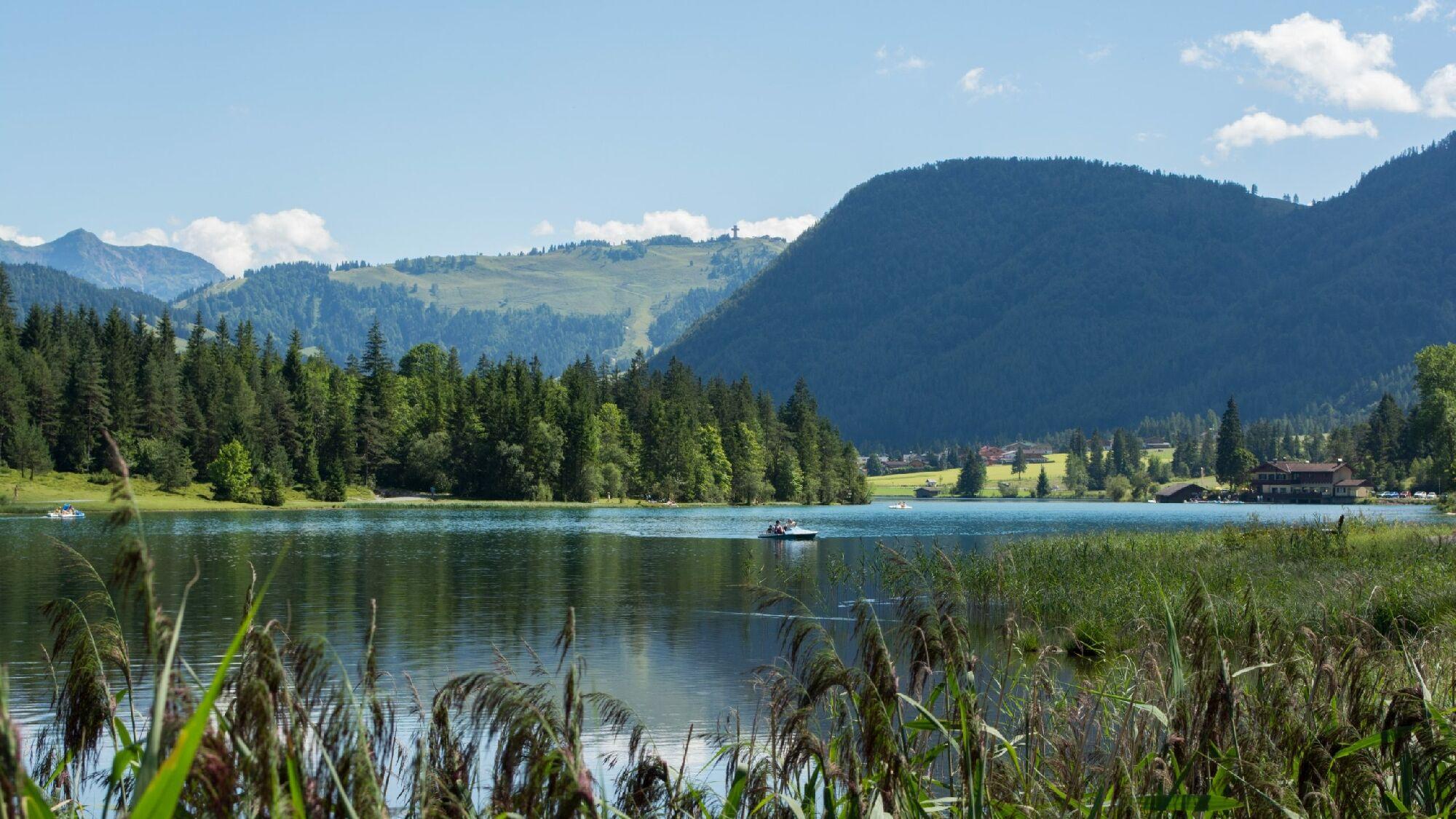 Der Pillersee im Pillerseetal