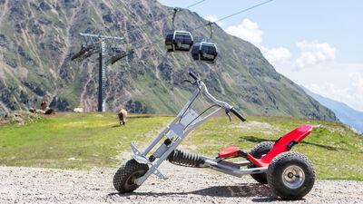 Beliebtes Sommererlebnis am Schnalstaler Gletscher: Mountain Carts