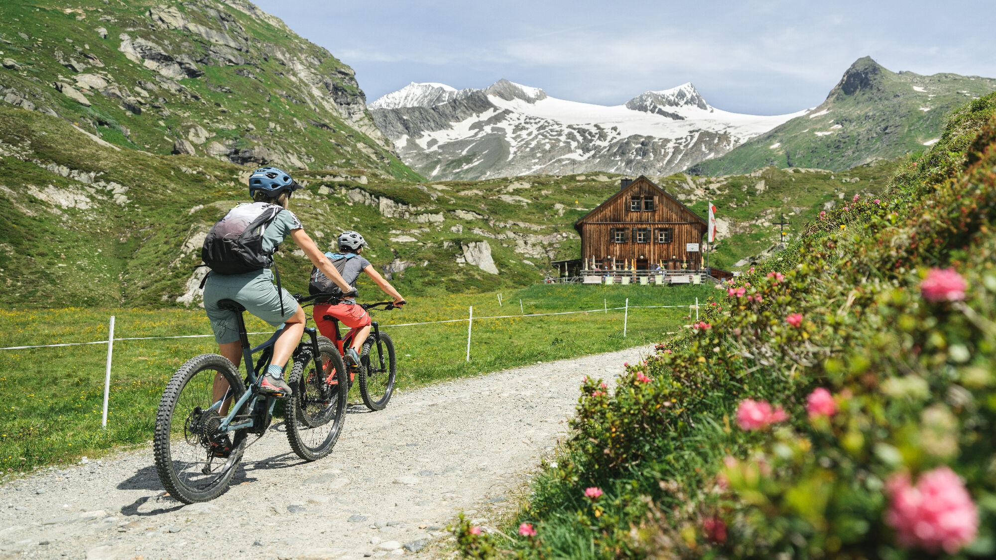 In Osttirol finden E-MTBler mehr als 500 Kilometer offizielle Strecken!