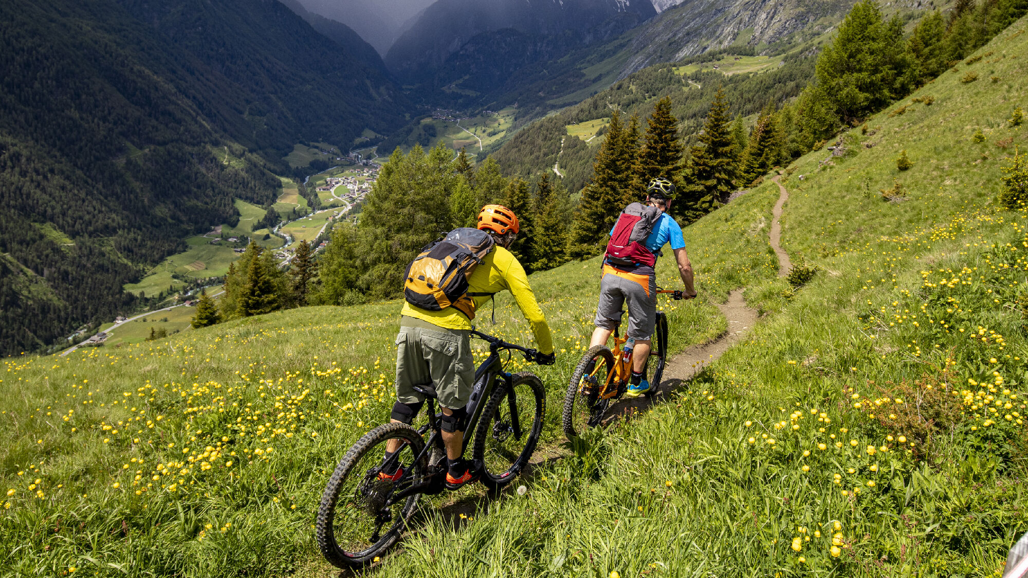 Das E-Bike eröffnet ungeahnte neue Möglichkeiten in den Bergen Osttirols.