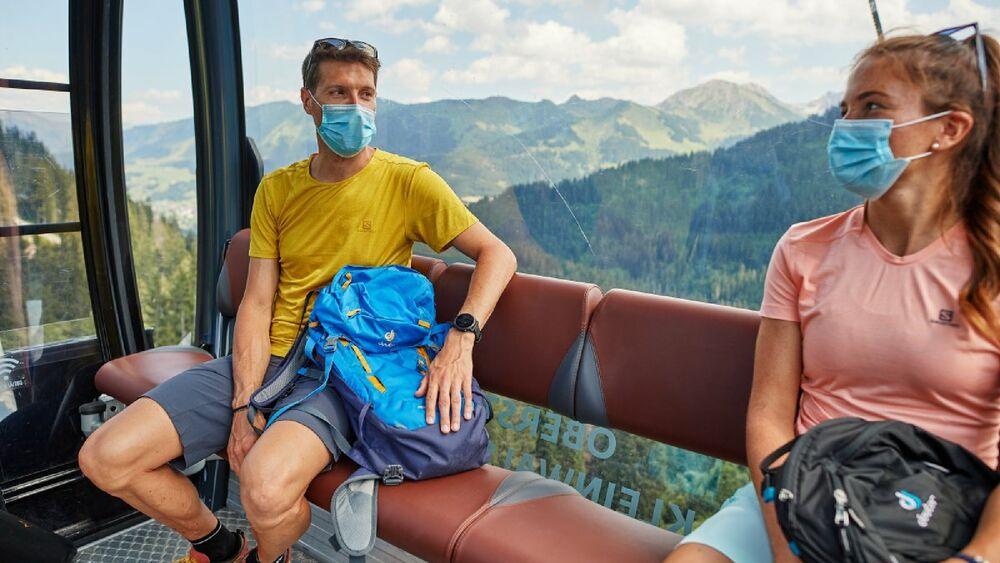 In Oberstdorf dürfen die Gondeln endlich wieder fahren