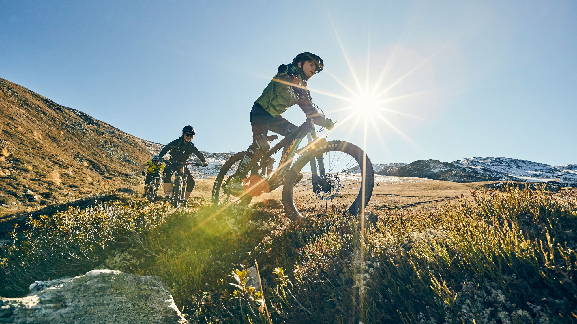 Serfaus-Fiss-Ladis bietet ein riesiges Trailnetz für Biker.