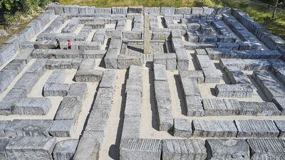 Das Epprechtstein Labyrinth im Fichtelgebirge