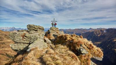 Gipfelglück auf dem Home of Lässig Walk