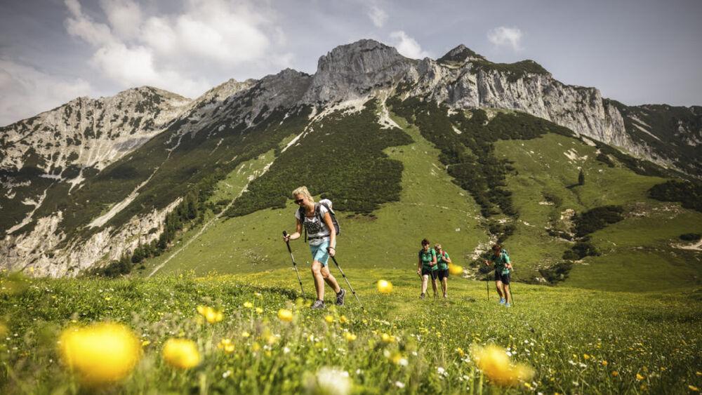 Sämtliche Strecken boten einen einmaligen Ausblick auf das markante Kaisergebirge.