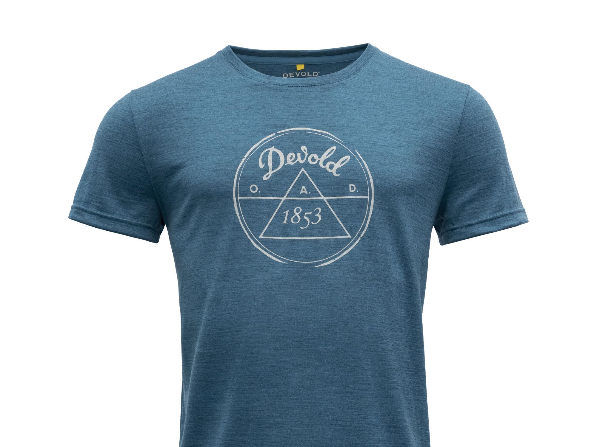 1853 T-Shirt von DEVOLD of Norway