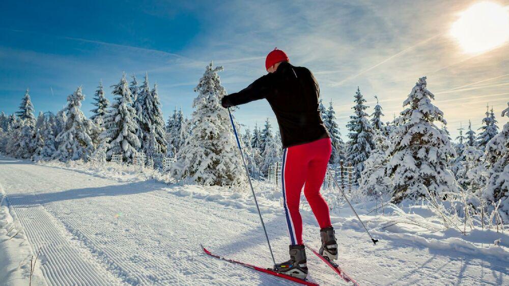 Langlauf kann genauso spaßig sein wie Downhill!