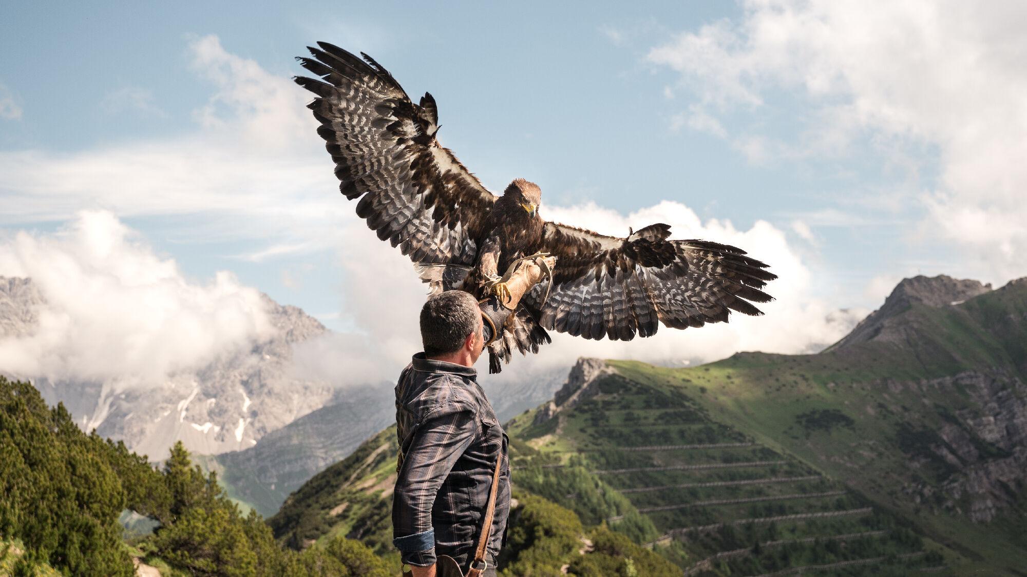 Adlerwanderung in Malbun