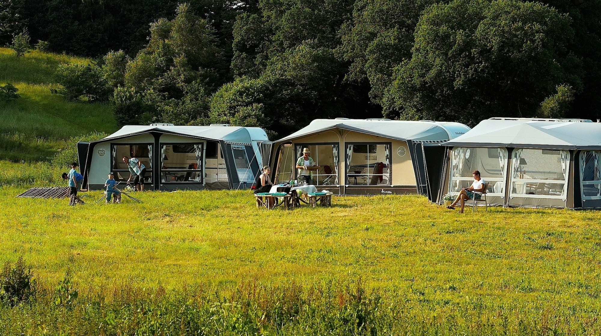 Naturnahes Camping wird immer beliebter