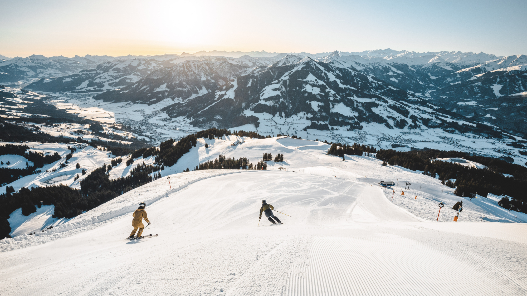 Skifahren SkiWelt Wilder Kaiser Brixental