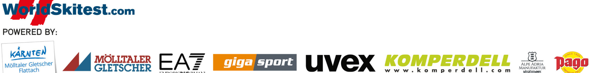 Sponsoren und Partner des Skitests 2021/2022