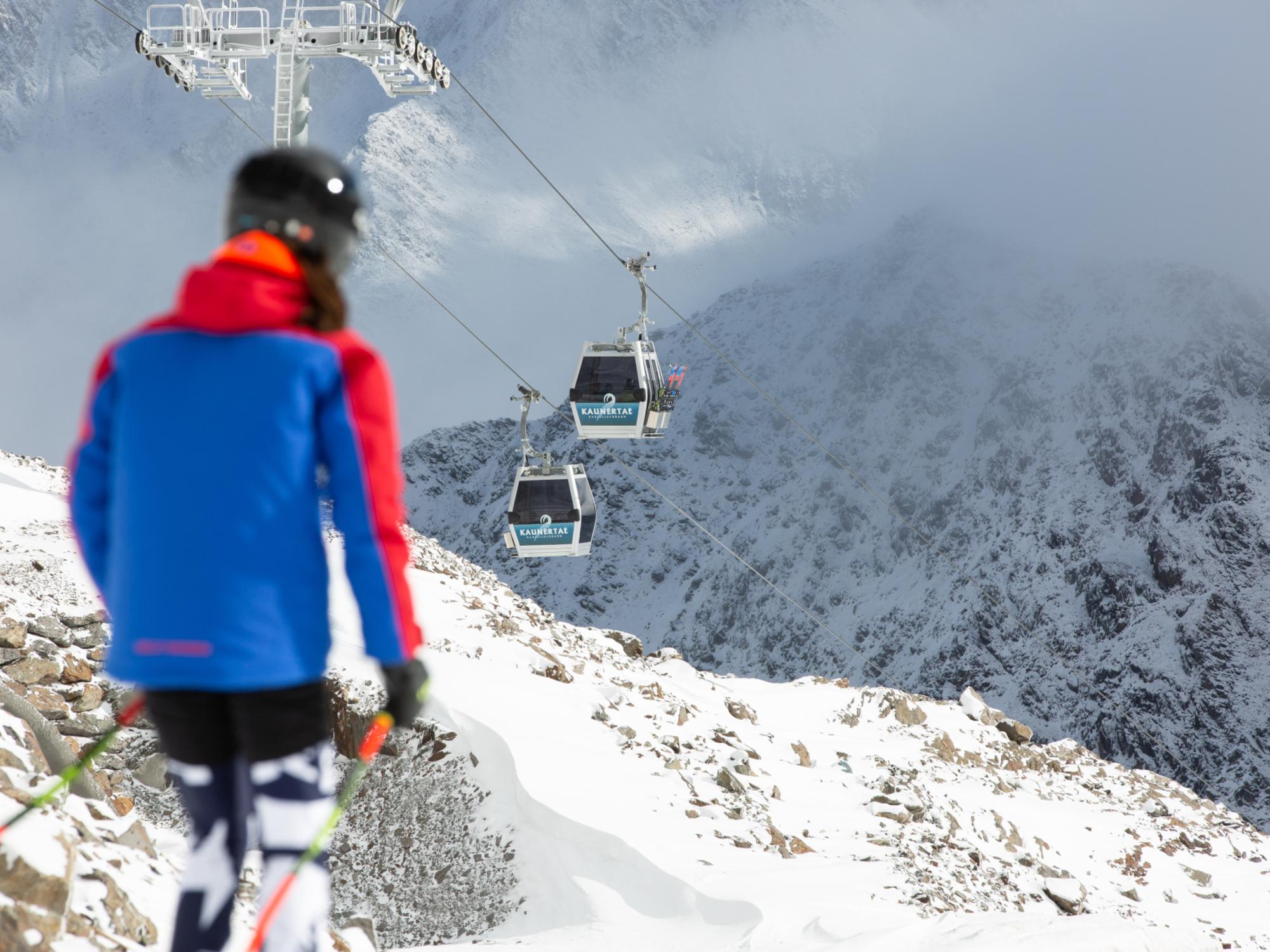 Karlesjochbahn Kaunertaler Gletscher