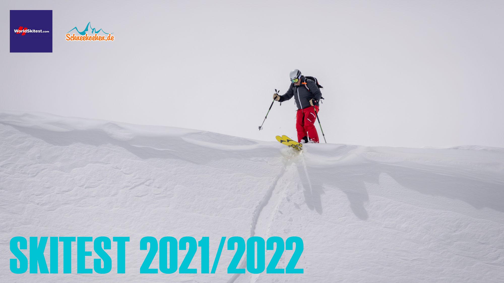 Beim Skitest 2021/2022 wurden insgesamt ca. 130 Paar Ski getestet