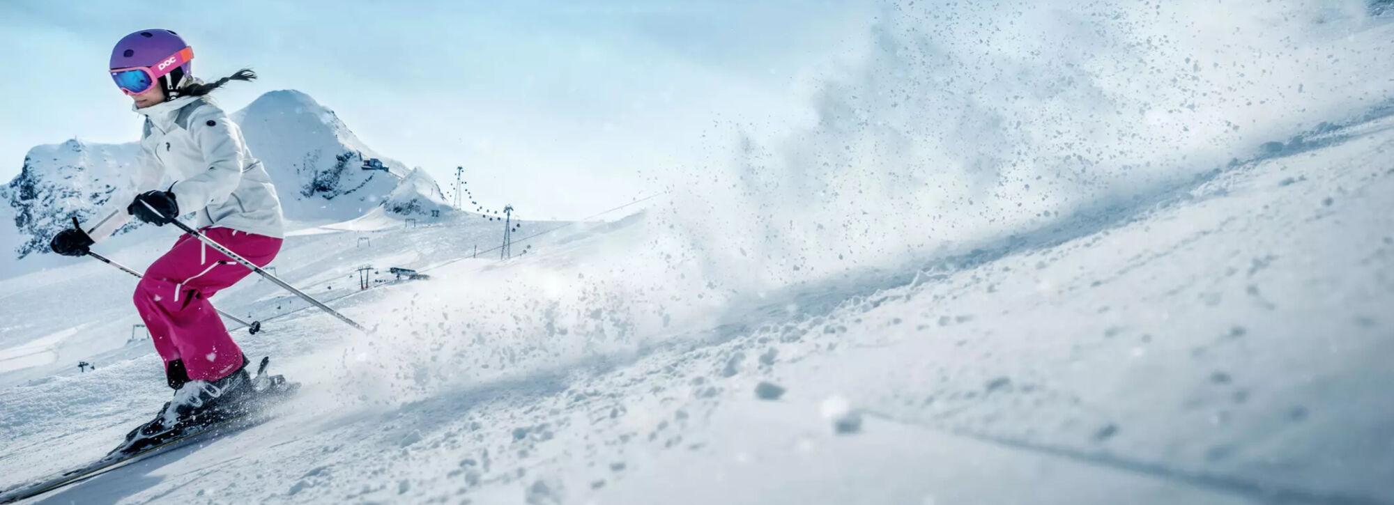 Skifahren am Kitzsteinhorn
