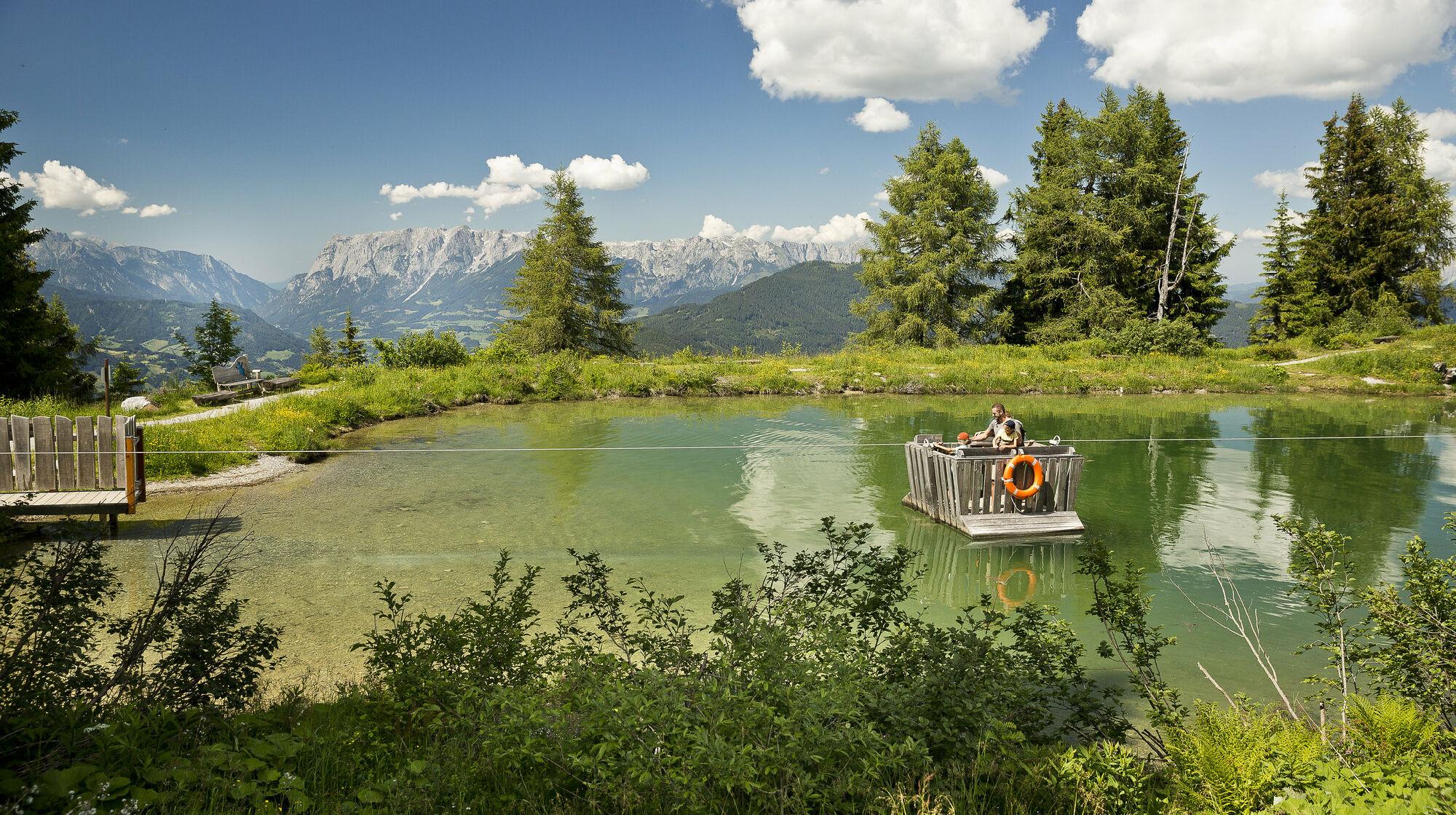 Floß am Geisterberg Alpendorf