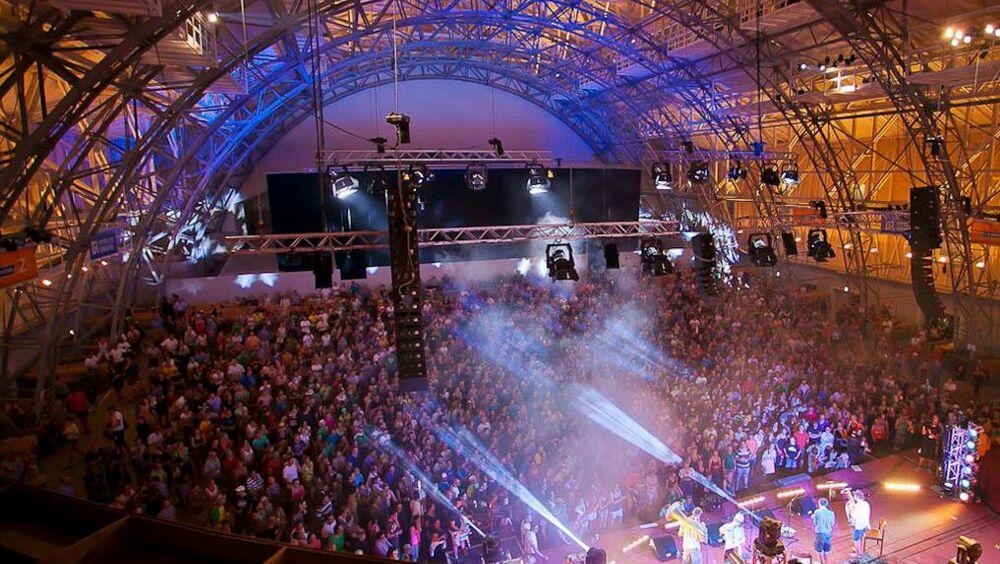 Zahlreiche Besucher beim Heimatsound Festival