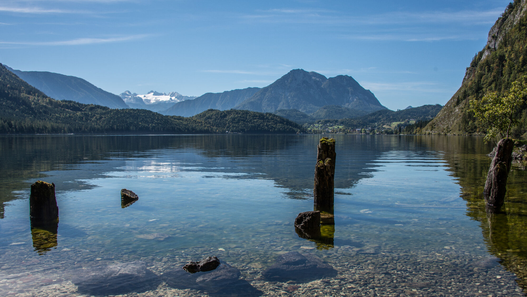 Ruhige Lage am Altausseer See