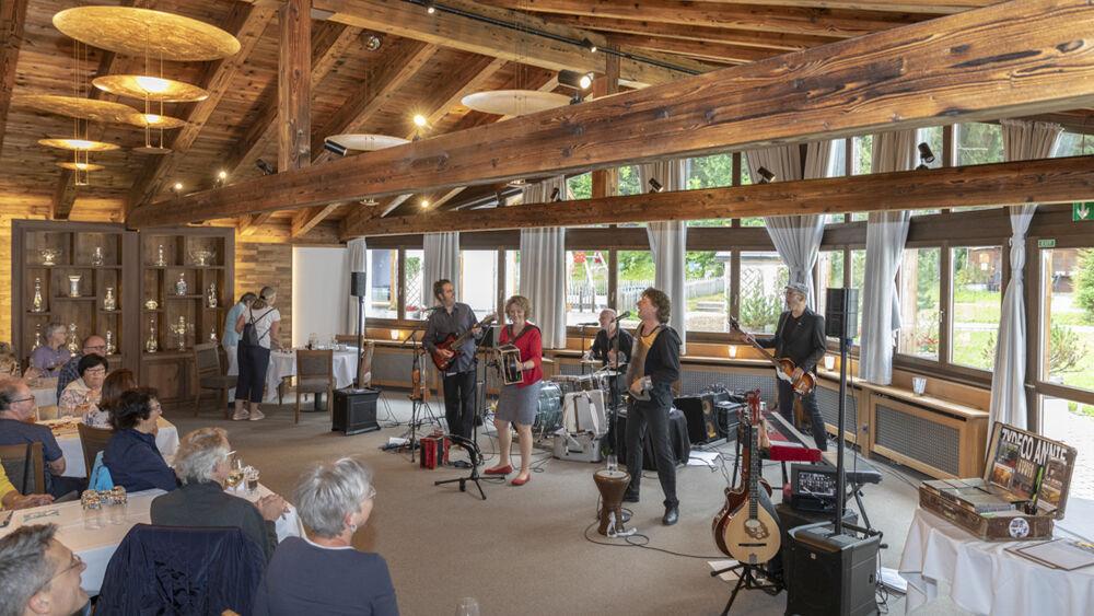 Auftritt beim Jazzfestival Davos Klosters Sounds Good