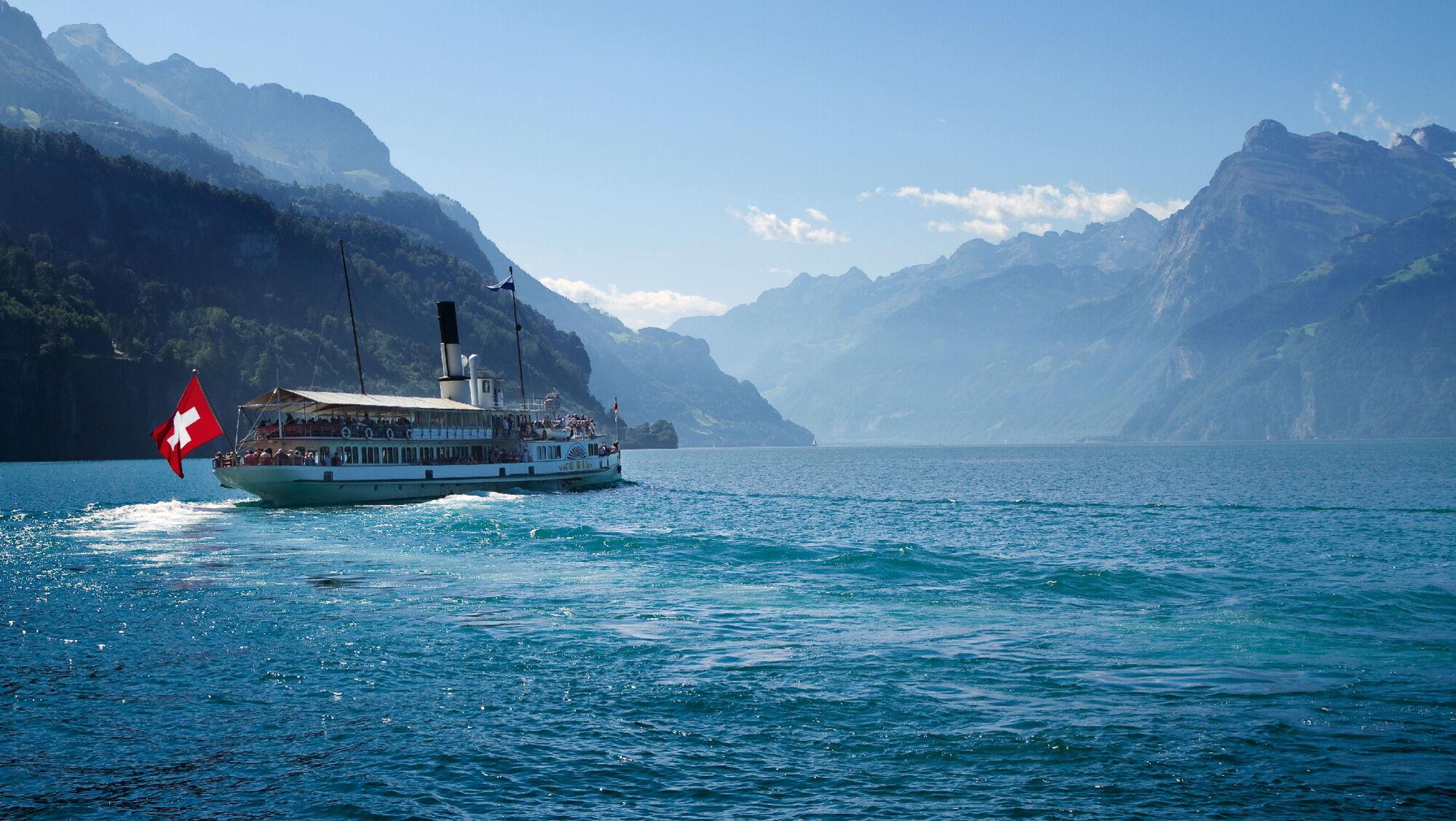 Schifffahrt auf dem Vierwaldstätter See