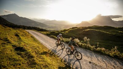 E-Biken in den Alpen