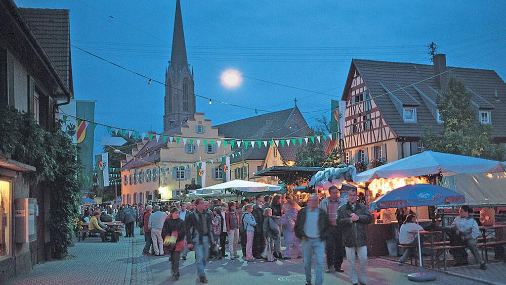 Weinfest im Schwarzwald